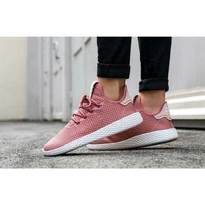 Adidas Pharell Williams Tennis HU Sneakers Pink